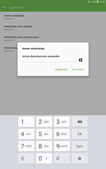 Samsung Galaxy Tab A 10-1 - Anrufe - Rufumleitungen setzen und löschen - Schritt 11