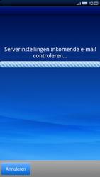 Sony Xperia X10 - E-mail - Handmatig instellen - Stap 8