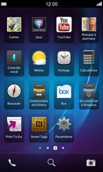 BlackBerry Z10 - Internet et roaming de données - Désactivation du roaming de données - Étape 3