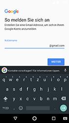 Motorola Moto G5s - Apps - Konto anlegen und einrichten - 0 / 0