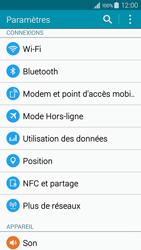 Samsung Galaxy A3 (A300FU) - Internet et connexion - Désactiver la connexion Internet - Étape 4