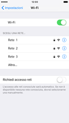 Apple Apple iPhone 7 - WiFi - Configurazione WiFi - Fase 5