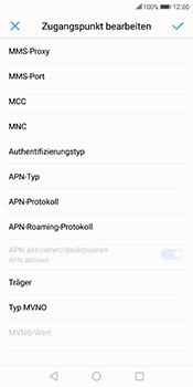 Huawei Mate 10 Lite - MMS - Manuelle Konfiguration - Schritt 13