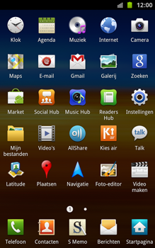 Samsung N7000 Galaxy Note - E-mail - handmatig instellen - Stap 3