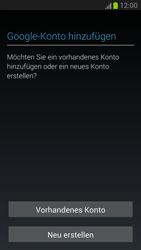 Samsung Galaxy Note 2 - Apps - Konto anlegen und einrichten - 4 / 15