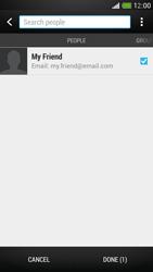 HTC One Mini - E-mail - Sending emails - Step 7