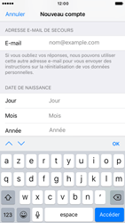 Apple iPhone 7 - Applications - Créer un compte - Étape 14