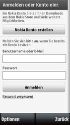 Nokia 5800 Xpress Music - Apps - Konto anlegen und einrichten - 0 / 0
