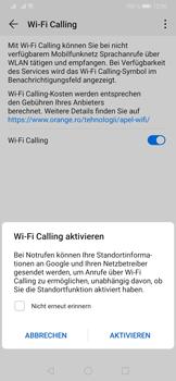 Huawei P30 - WiFi - WiFi Calling aktivieren - Schritt 8