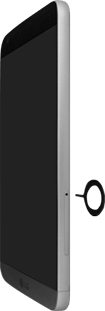 LG H850 G5 - SIM-Karte - Einlegen - Schritt 2