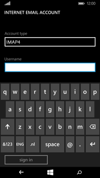 Microsoft Lumia 640 XL - Email - Manual configuration IMAP without SMTP verification - Step 13