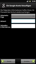 Sony Xperia S - Apps - Konto anlegen und einrichten - 13 / 21