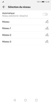 Huawei Mate 10 Pro - Android Pie - Réseau - Sélection manuelle du réseau - Étape 9