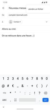 OnePlus 7T Pro - E-mails - Envoyer un e-mail - Étape 10