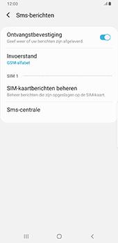 Samsung Galaxy S9 Plus - Android Pie - SMS - handmatig instellen - Stap 10