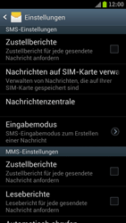 Samsung I9300 Galaxy S III - SMS - Manuelle Konfiguration - Schritt 4