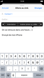 Apple iPhone 6 - iOS 11 - E-mails - Envoyer un e-mail - Étape 10