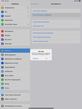 Apple iPad Pro 12.9 inch 4th generation (2020) (Model A2232) - Instellingen aanpassen - Fabrieksinstellingen terugzetten - Stap 6