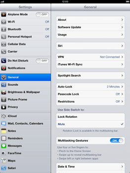 Apple iPad mini - Software - Installing software updates - Step 6