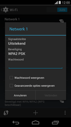 Motorola Moto G - wifi - handmatig instellen - stap 7