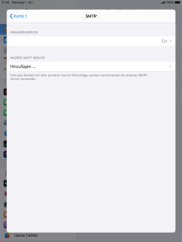 Apple iPad Air 2 - ipados 13 - E-Mail - Manuelle Konfiguration - Schritt 17