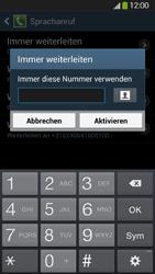 Samsung Galaxy S4 Active - Anrufe - Rufumleitungen setzen und löschen - 10 / 12