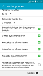 Samsung Galaxy Grand Prime - E-Mail - Konto einrichten (outlook) - 2 / 2