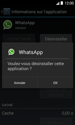 Bouygues Telecom Bs 403 - Applications - Supprimer une application - Étape 8
