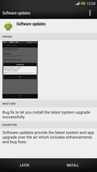 HTC One Max - Software - Installing software updates - Step 8