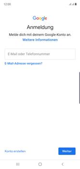 Samsung Galaxy Note 10 - Apps - Einrichten des App Stores - Schritt 5