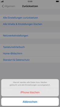 Apple iPhone 6s Plus - iOS 13 - Fehlerbehebung - Handy zurücksetzen - Schritt 8