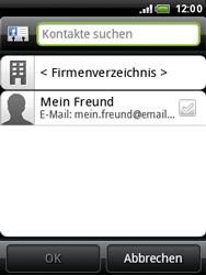 HTC A3333 Wildfire - E-Mail - E-Mail versenden - Schritt 6