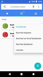 Sony Xperia XA2 - Anrufe - Anrufe blockieren - Schritt 5