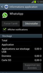 Samsung Galaxy S III Mini - Applications - Comment désinstaller une application - Étape 6