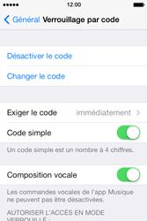 Apple iPhone 4 - Sécuriser votre mobile - Activer le code de verrouillage - Étape 8