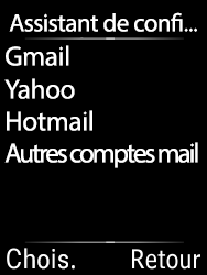 Doro 6620 - E-mails - Ajouter ou modifier votre compte Yahoo - Étape 10