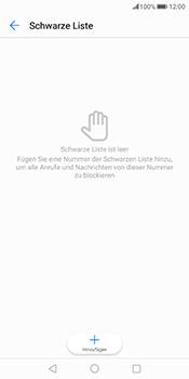 Huawei Mate 10 Pro - Anrufe - Anrufe blockieren - Schritt 7