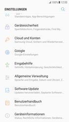 Samsung Galaxy S6 - Android Nougat - Gerät - Zurücksetzen auf die Werkseinstellungen - Schritt 4