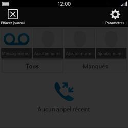 BlackBerry Q5 - Messagerie vocale - configuration manuelle - Étape 5