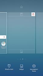 Samsung Galaxy J3 (2017) - Operazioni iniziali - Installazione di widget e applicazioni nella schermata iniziale - Fase 4