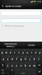 HTC One - E-mail - Configurer l