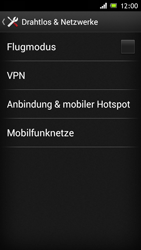 Sony Xperia J - MMS - Manuelle Konfiguration - Schritt 5