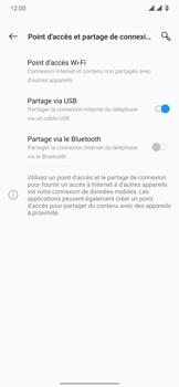OnePlus 7T Pro - Internet et connexion - Utiliser le mode modem par USB - Étape 8