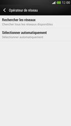HTC One Mini - Réseau - Sélection manuelle du réseau - Étape 6