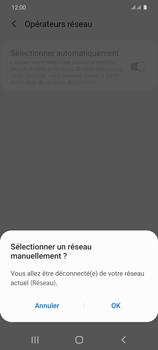 Samsung Galaxy S20 5G - Réseau - Sélection manuelle du réseau - Étape 9