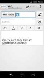 Sony Xperia E3 - E-Mail - E-Mail versenden - 8 / 16