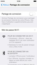 Apple iPhone 5c - Internet et connexion - Utiliser le mode modem par USB - Étape 6