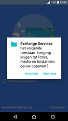 Sony F5121 Xperia X - Android Nougat - E-mail - handmatig instellen (outlook) - Stap 11