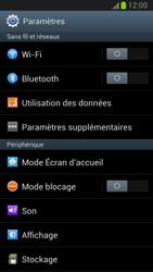 Samsung N7100 Galaxy Note II - Internet - configuration manuelle - Étape 5