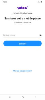 Samsung Galaxy S20+ - E-mails - Ajouter ou modifier votre compte Yahoo - Étape 10
